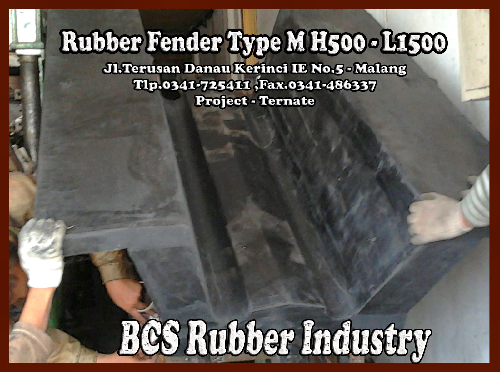 Special Edition Rubber Fender M 500 L 1500