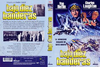 Bajo diez banderas (1960) | Caratula | Cine clásico