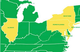 IDT Energy, Illinois, New York, Pennsylvania, New Jersey, Maryland