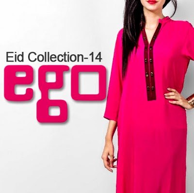 EGO Eid Collection 2014 for Girls | EGO Ladies Kurta for EID UL FITER