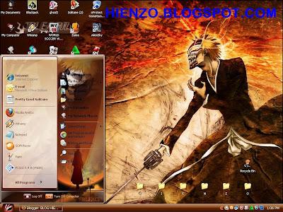 Ichigo Kurosaki Windows XP