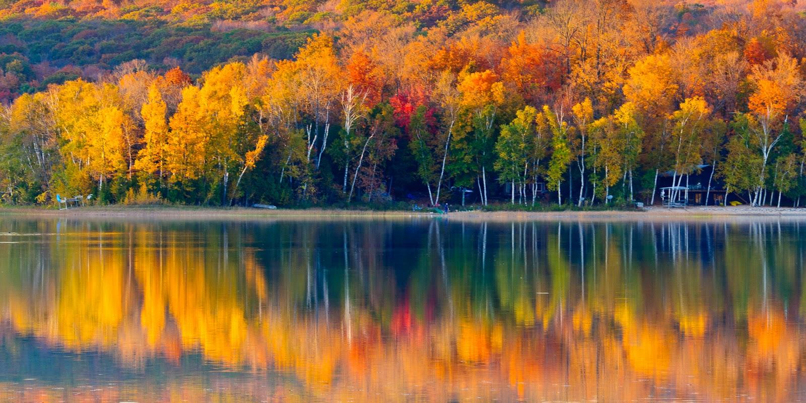 Steve Q Photo  Up North Michigan Fall Color