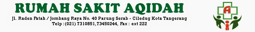 Lowongan Apoteker RS AQIDAH September 2014 di Tangerang