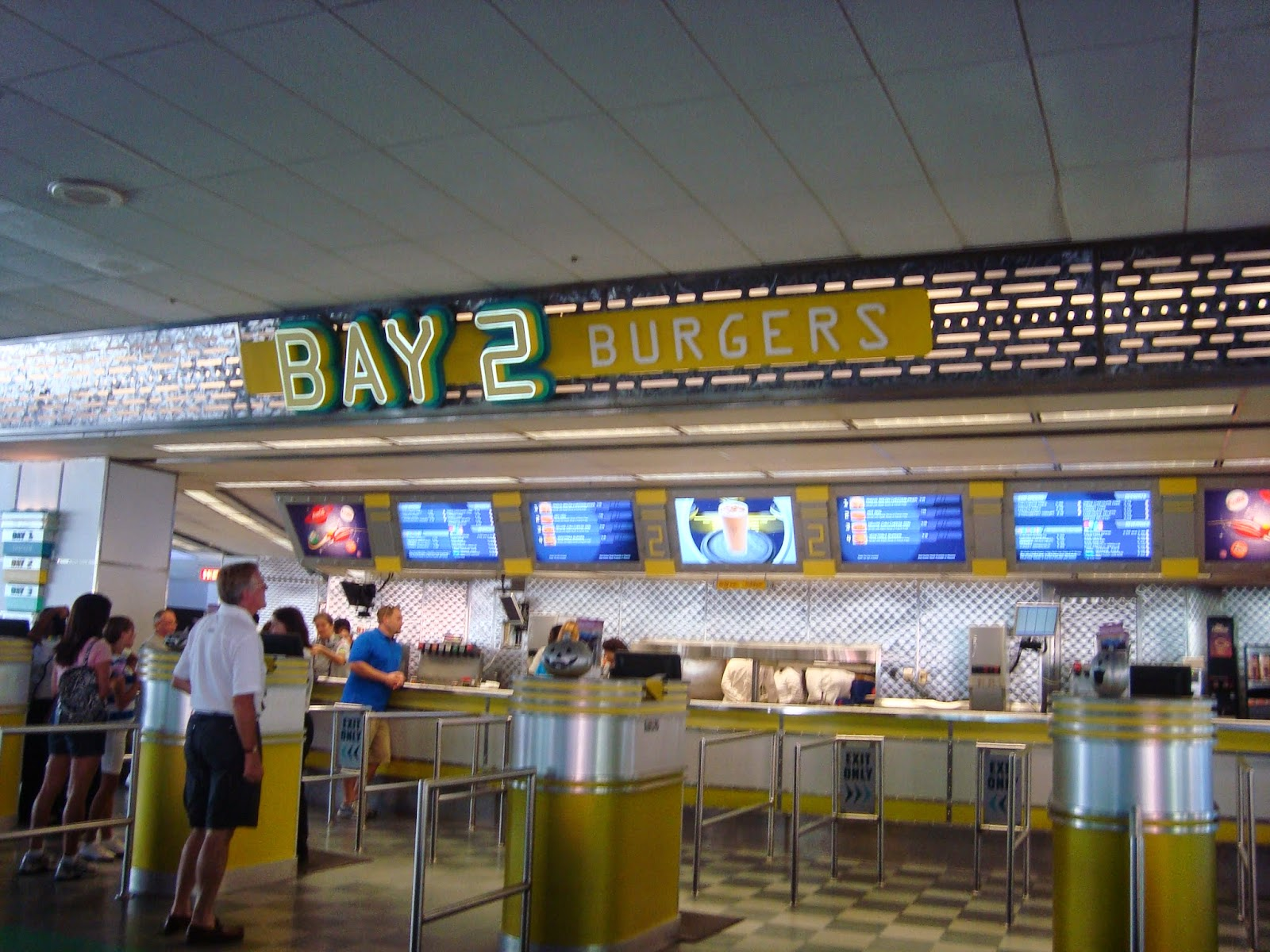 Quick Service Burger Bay