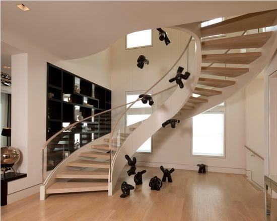 Contoh Model Desain Tangga Rumah Minimalis Gaya Modern