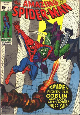 Amazing Spider-Man #97, the Green Goblin
