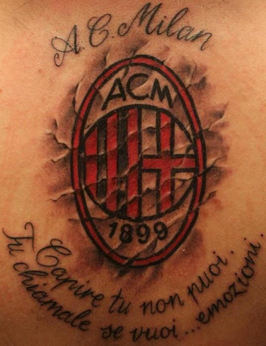 Ink Ac Milan Footy Fair