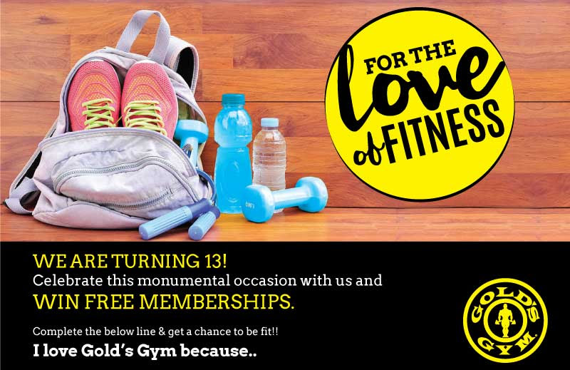 Get free gift vouchers win free membership with golds gym get free gift vouchers win free membership with golds gym yadclub Image collections