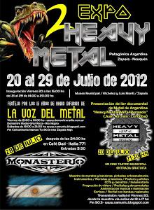 2º  EXPOSICIÓN HEAVY METAL - PATAGÓNICA - ARGENTINA - ZAPALA - NEUQUÉN