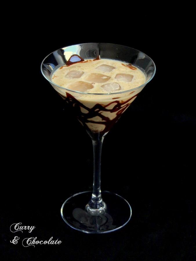 Combinado de Baileys y Kahlúa con chocolate -  Baileys and Kahlúa chocolate cocktail