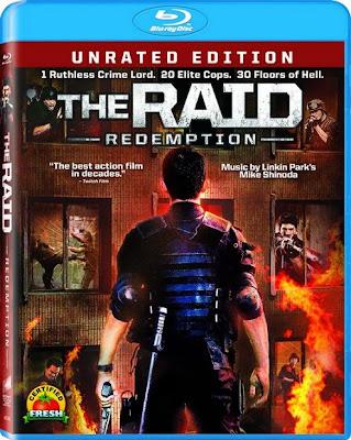 The Raid Redemption (2012) 720p BRRip 1GB mkv Latino AC3 5.1 ch (2SHARED)