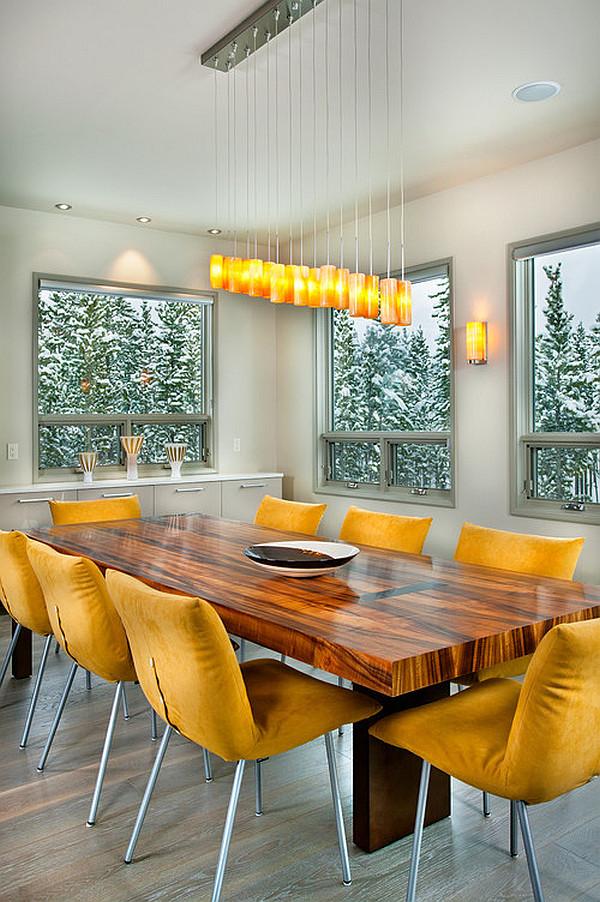 Sala de jantar moderna 1
