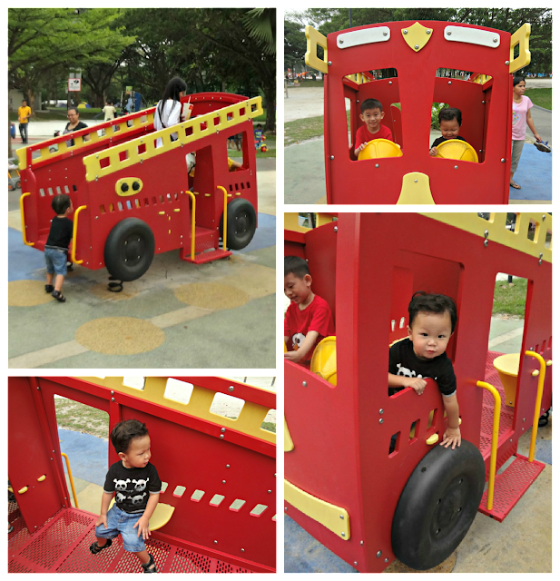 Playground at West Coast Park