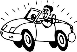 Car :: Clip Art :: Line Drawing :: Science Worksheet :: Kindergarten :: KG Class