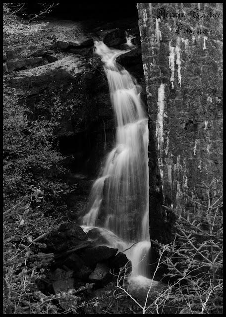 Wieslauftal Wasserfall Langzeitbelichtung