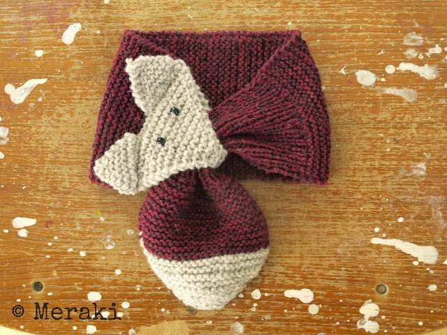 tricot-tuto-écharpe-renard
