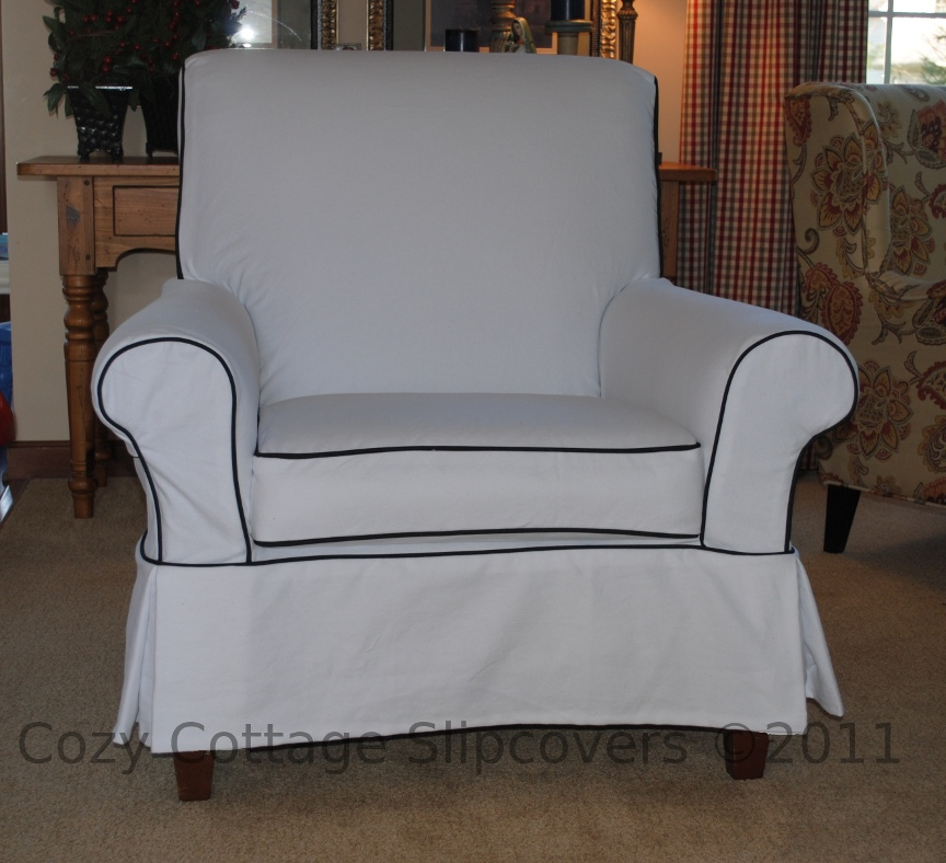 Cozy Cottage Slipcovers – Club Chair