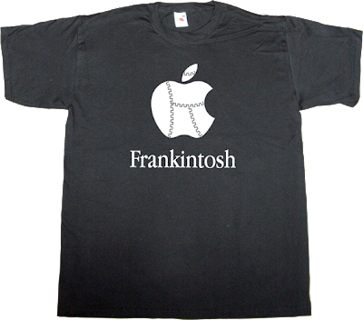 macintosh apple frankenstein t-shirt ephemeral-t-shirts