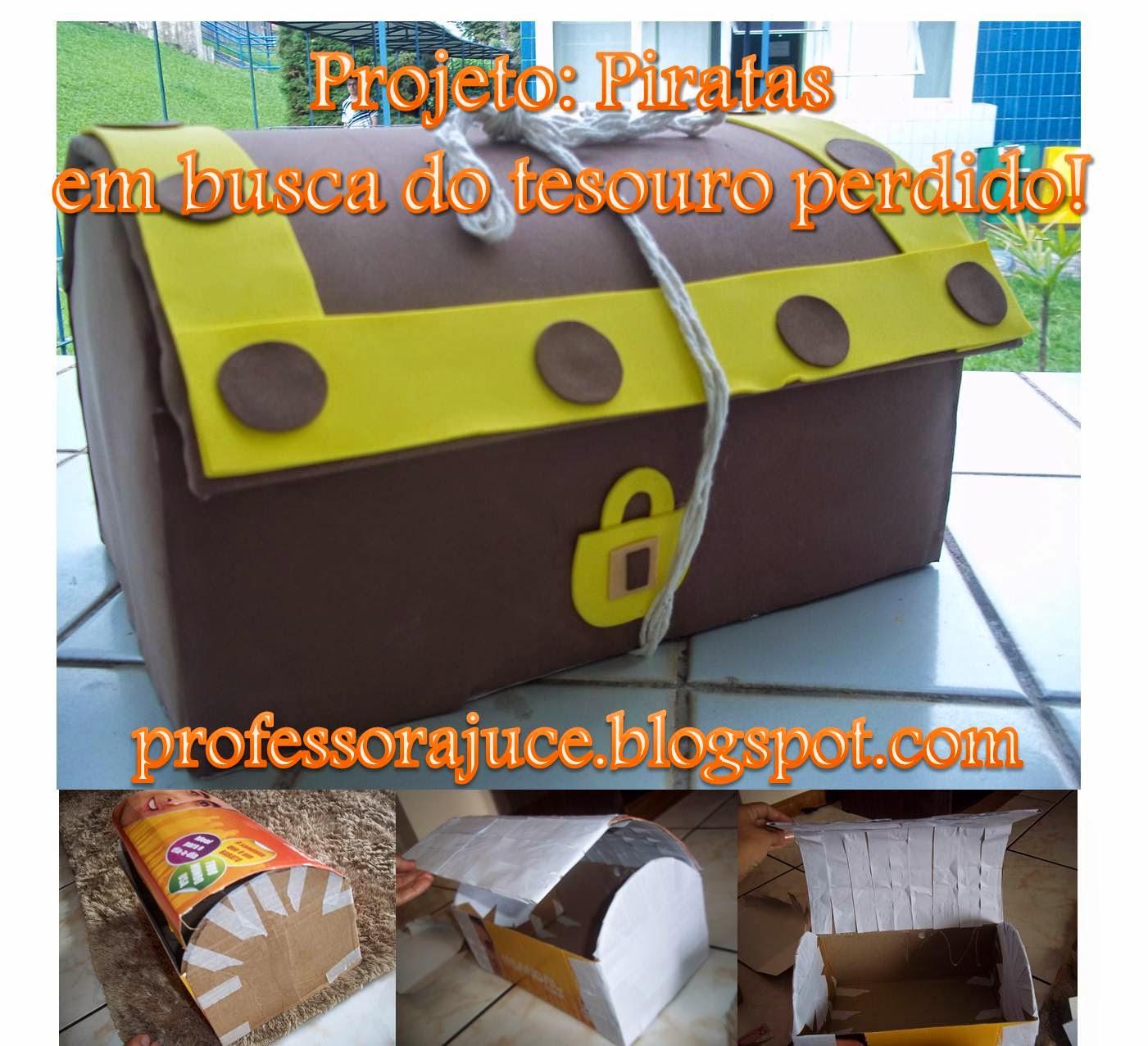 Favoritos Professora Juce: Projeto: Piratas - para Educação Infantil AR78