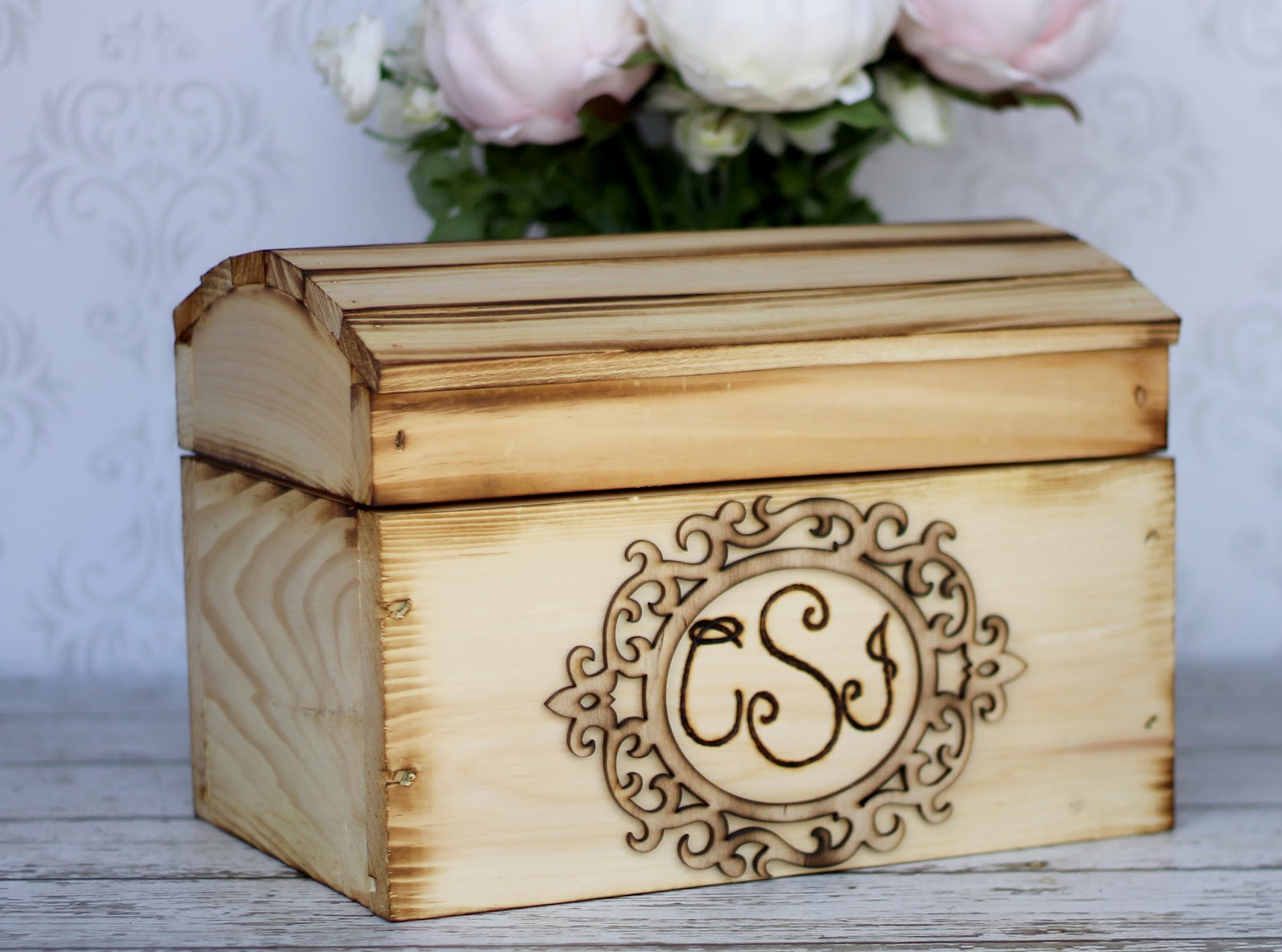Morgann Hill Designs Large Personalized Engraved Wood Wedding – Wooden Card Box Wedding