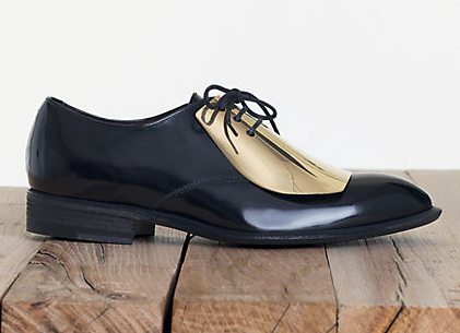 Celine Gold Plated Oxfords dupes