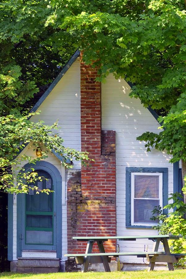 cabane dans le New Hampshire