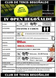 IV Open Begoñalde 2011