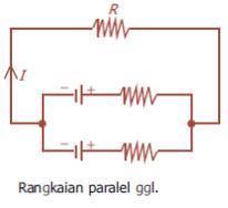 ggl dirangkai secara paralel