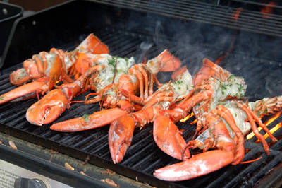 ... beans grilled lobster and summer summer food grilled lobster summer