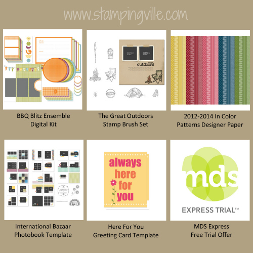 Newest Digital Downloads from Stampin' Up!