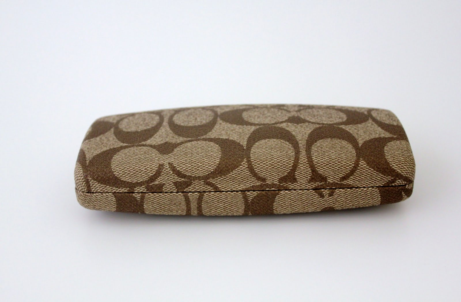 The Sassy Sewer: Coach Eyeglass Case or Sunglass Cse