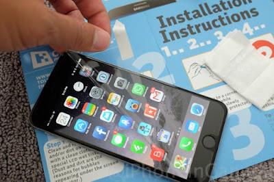 صورة توضيحية لايقونات mobile ايفون 6 بلس