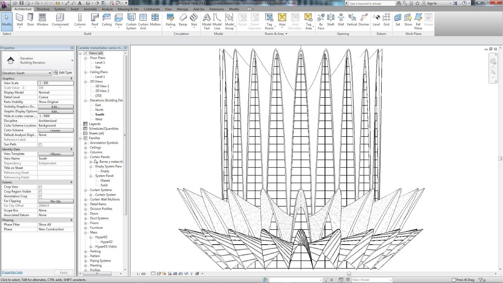 Revit familia param trica arquitectura virtual jgs for Arquitectura virtual