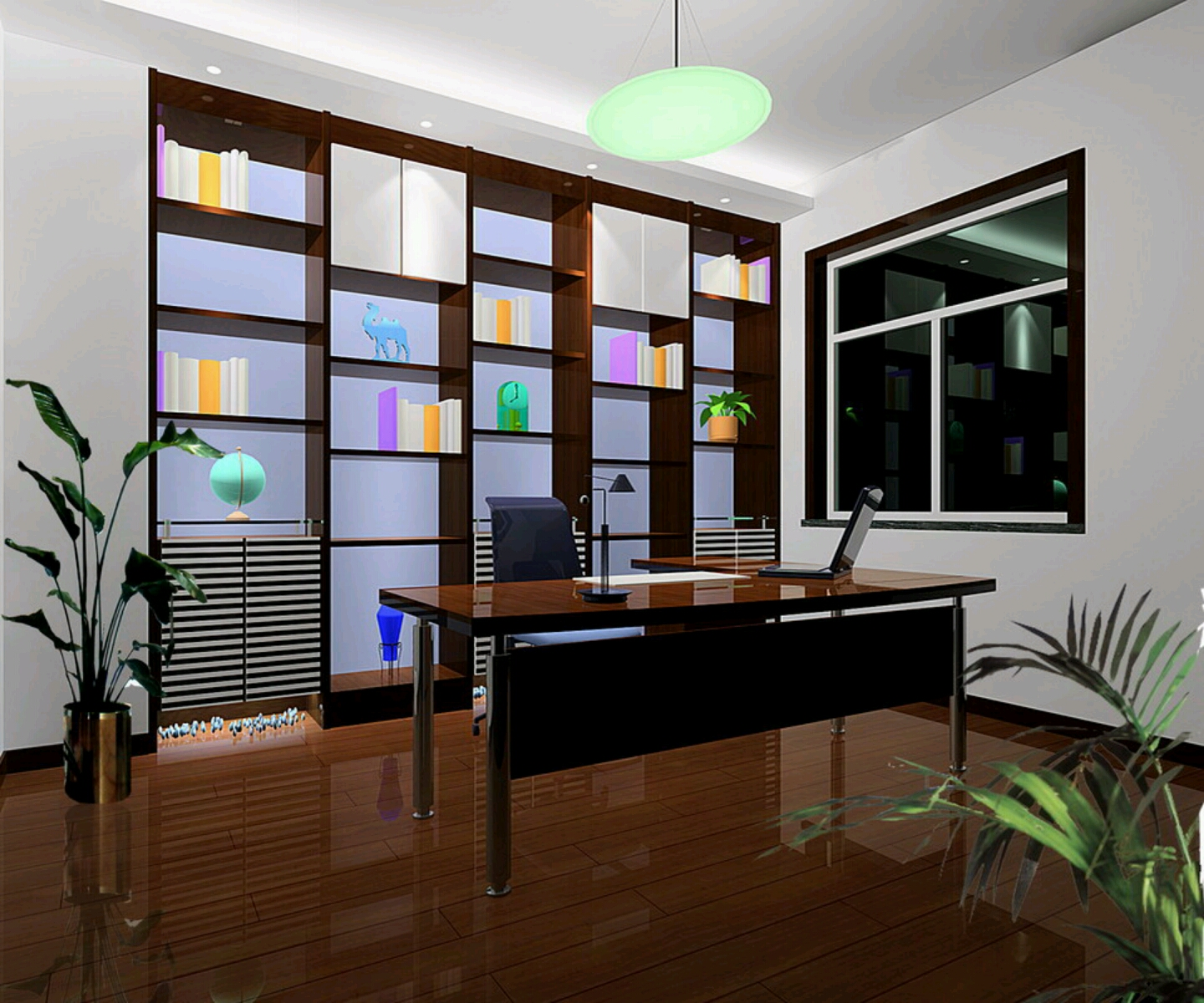 Rumah rumah minimalis study rooms designs ideas for Home design room colors