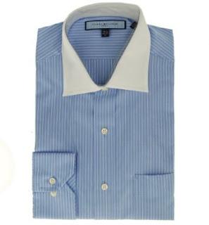 Tommy Hilfiger Men's Contrast Collar Shirt Water Mill 16 32/33