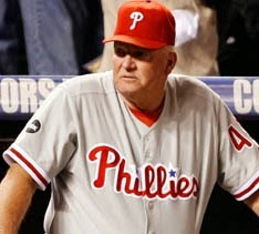 Can you envision Charlie Manuel wearing a polo and khaki pants?