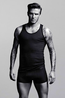 David Beckham for H & M, Black Trunks & Black Vest