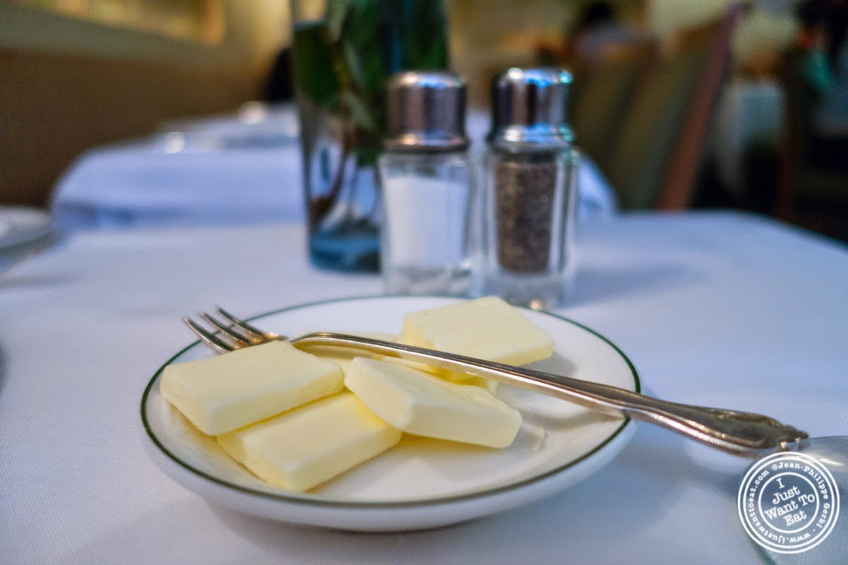 image of butter at Le Périgord in New York, NY