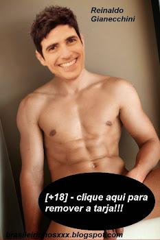 Reinaldo Gianecchini pelado de pau duro!