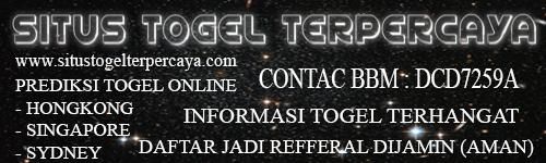 SITUS TOGEL TERPERCAYA