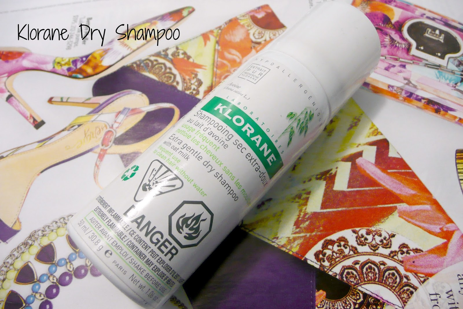 Klorane Dry Shampoo Review