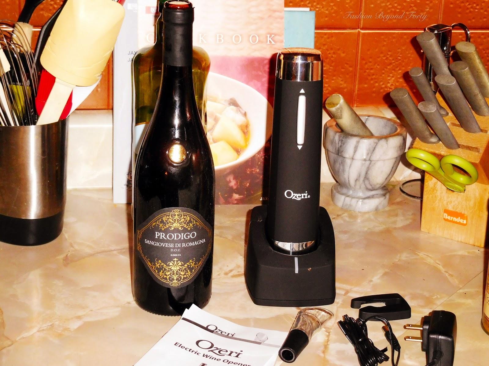 Ozeri Prestige Electric Wine Opener