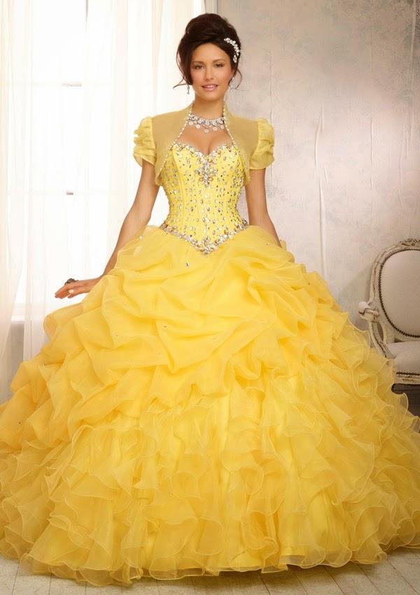 Beautiful Wedding Dresses In Color | Wedding Dress Styles