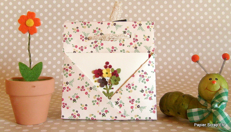 Papierscrapetc pochette cadeau - Cadeau pour jardinier ...