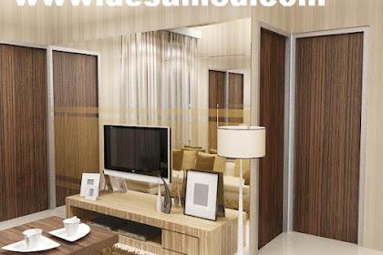 Desain interior living room minimalist