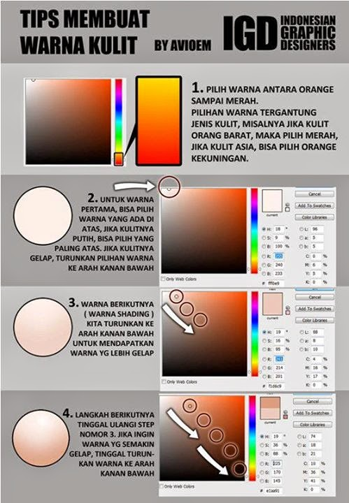 Tutorial  Vexel dengan Photoshop