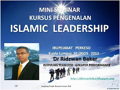 ISLAMIC LEADERSHIP 2013