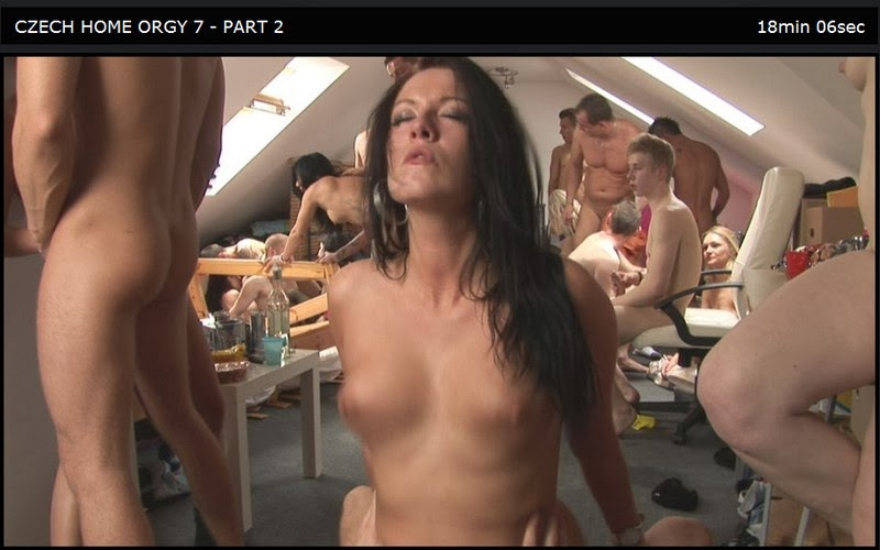 Czech Home Orgy 07 Part 2