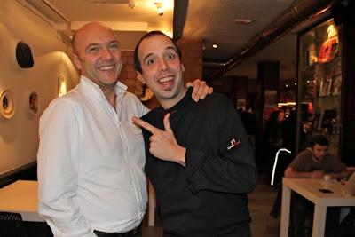 Esteban Capdevila y Edorta Lamo en A Fuego Negro. Blog Esteban Capdevila