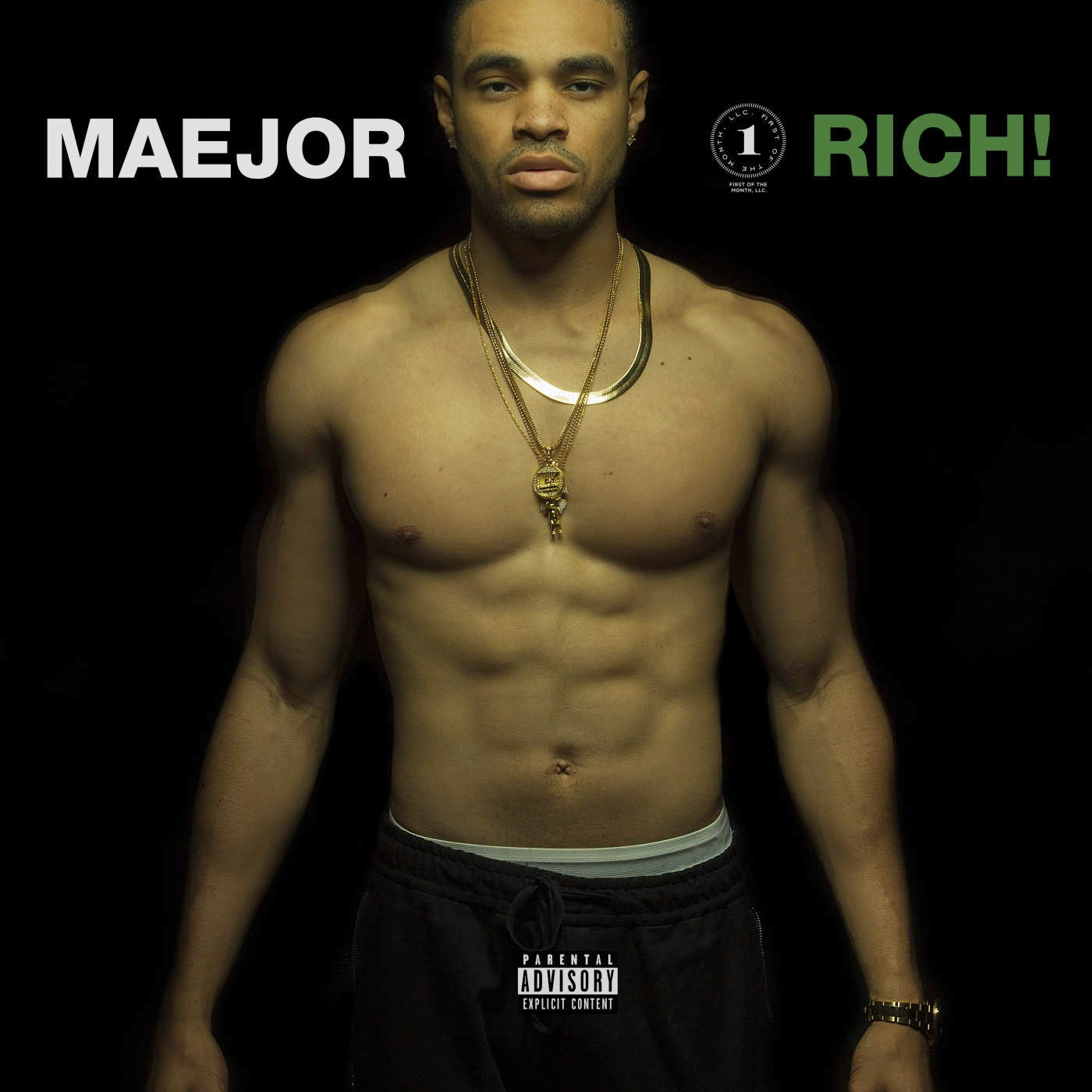 Maejor - Rich! - Single Cover